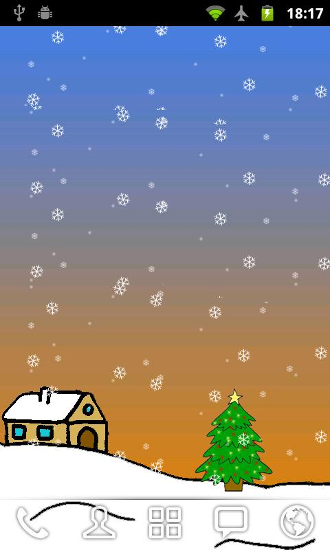 Christmas Live Wallpaper Free- screenshot
