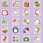 CUKI Theme Cute Santa Icons