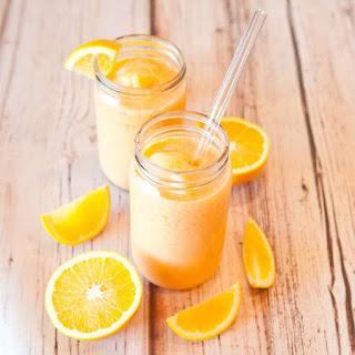 Creamy Push-Up Orange Smoothie.