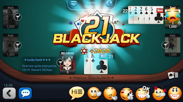 Screenshot of Happy BlackJack