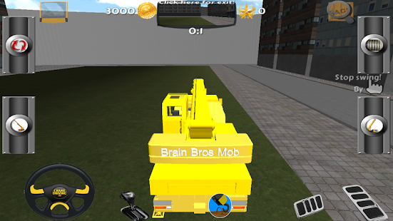 Crane Driving 3D Free - screenshot thumbnail