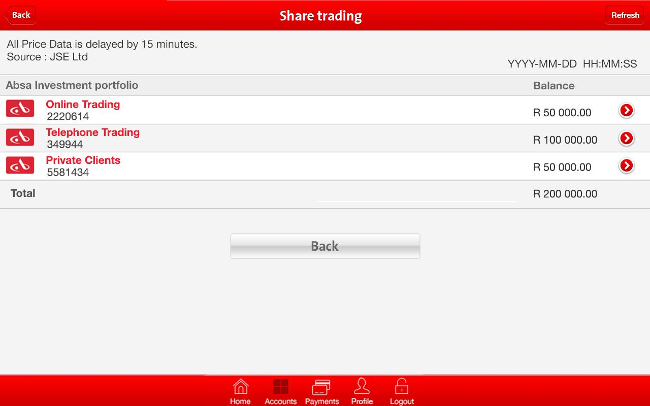 App from Absa - screenshot