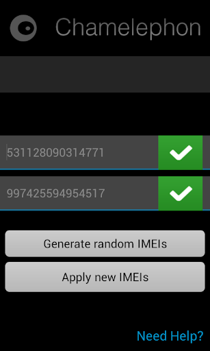 Change New IMEI Number