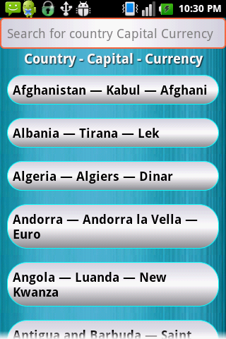 Country Capital Currency Google Play Store Revenue Download - Capital of all countries in the world