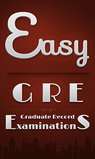 Easy GRE Flashcards