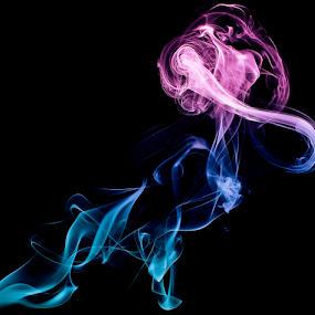 Colours by Mohd Norsabree Sailan - Abstract Fine Art ( amatuer, abstract, sabreephotograpict, awards, dark, inthedark, smokes, specials, colours )