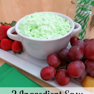 Pistachio Flavored Easy Fruit Dip