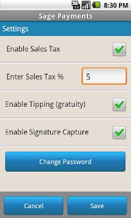 Sage Mobile Payments - screenshot thumbnail