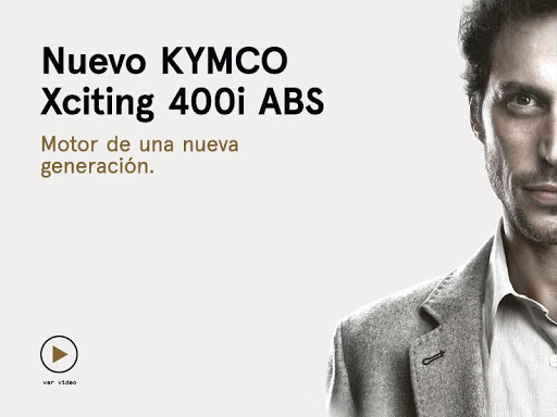 KYMCO Xciting 400i ABS Tablet