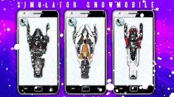 Screenshot of Simulator Snowmobile