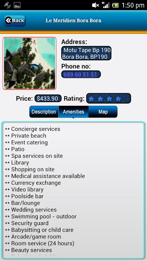 Bora Bora Offline Travel Guide- screenshot