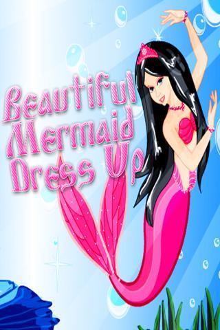 Beautiful Mermaid DressUp