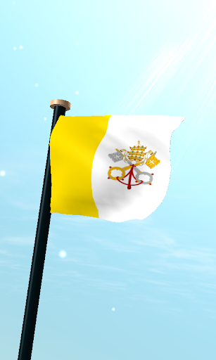 Vatican City Flag 3D Free