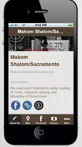 Makom Shalom Sacramento