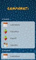 Screenshot of iPallanuoto
