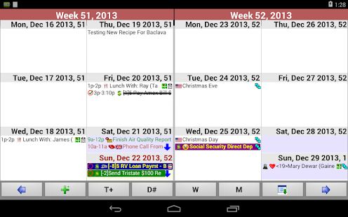Pimlical Advanced Calendar/PIM- screenshot thumbnail
