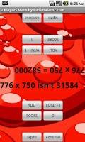 Screenshot of 2 Player Math