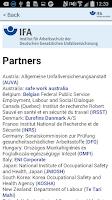 Screenshot of GESTIS-ILV