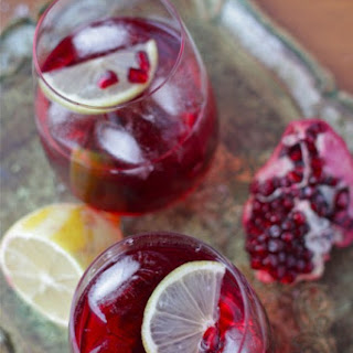 Pomegranate Sparklers Recipe