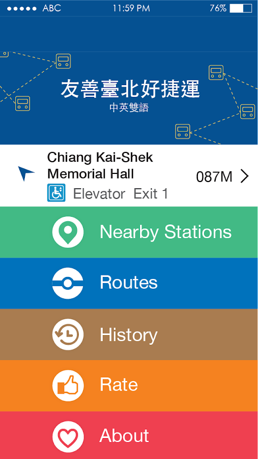 Friendly Metro Taipei 2015- screenshot
