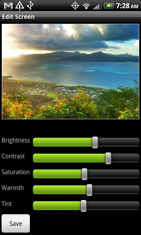 Pro HDR Camera – Screenshot