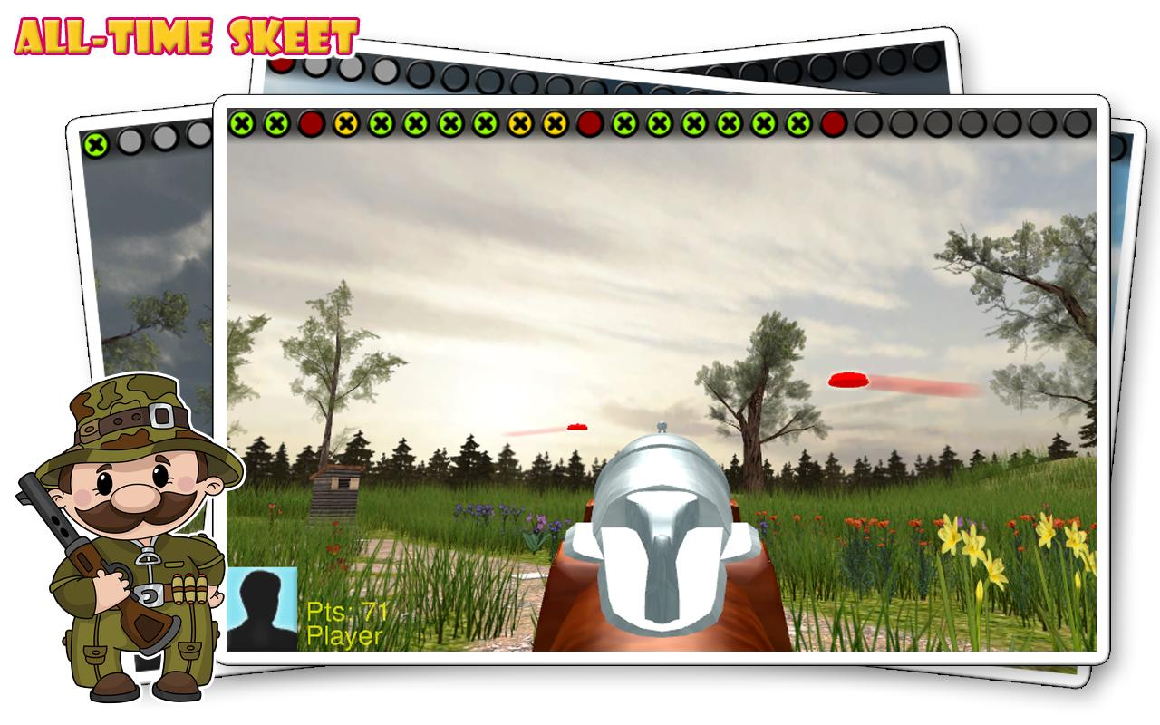 All-Time Skeet- screenshot
