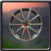 Sport Wheel Clock Widget