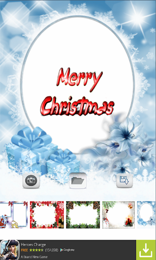 Christmas Photo Frames Free
