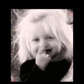Emery Marie ♡ by Helen Jamison - Babies & Children Toddlers ( girl, black and white, precious, beautiful, adorable, toddler )
