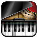 Learn piano game multitouch icon