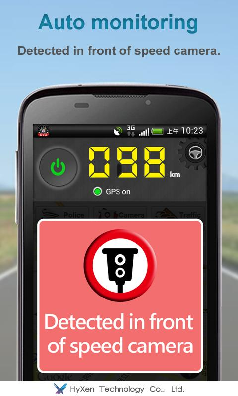 Speed Detector EVO- screenshot