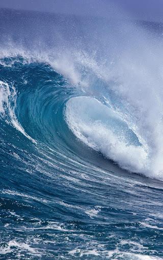 波浪動態壁紙