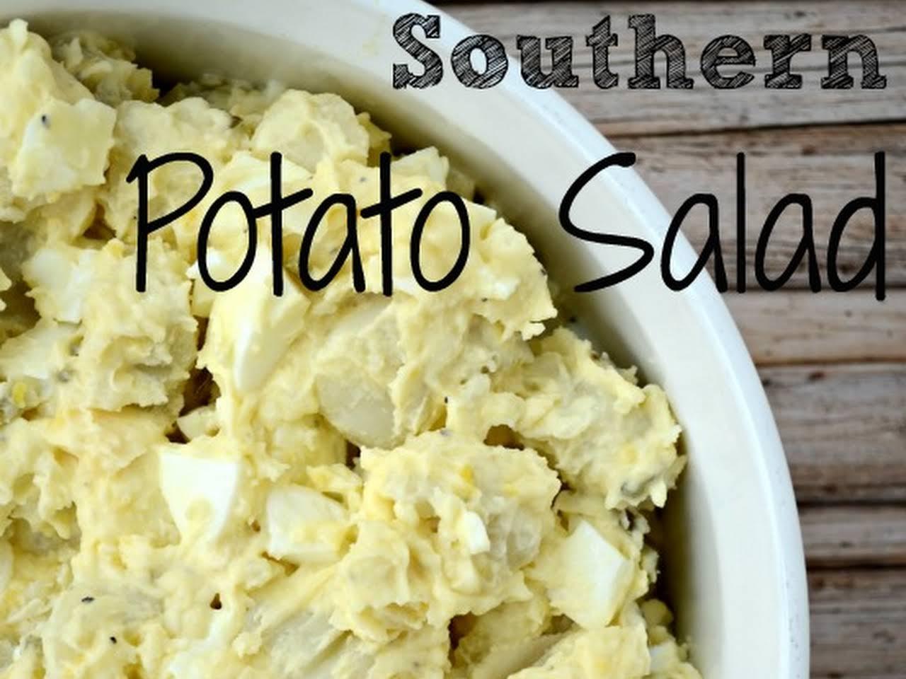 Soul Food Potato Salad Recipe With Egg