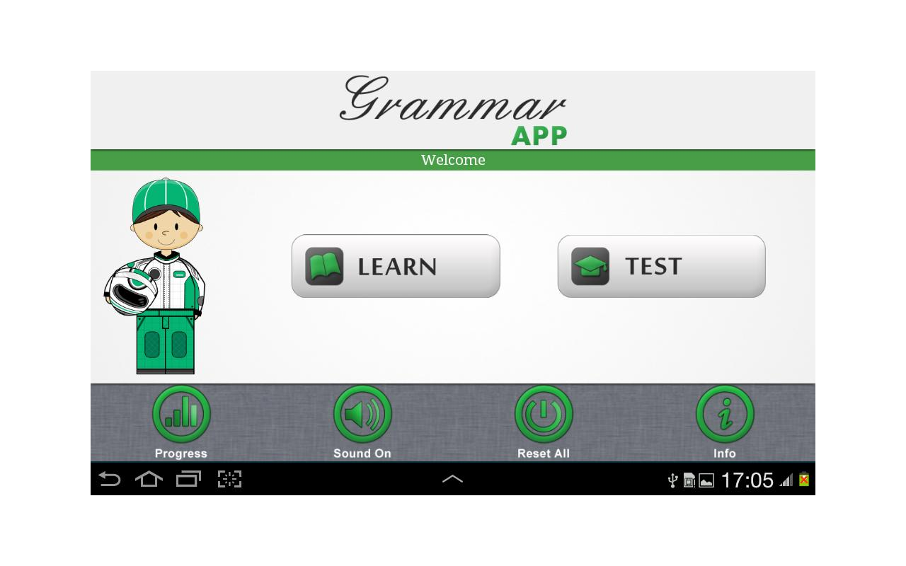 Grammar App by TapToLearn - screenshot