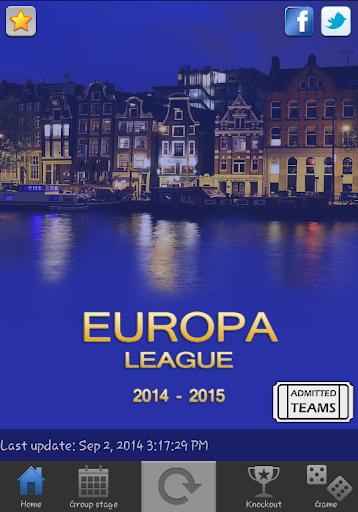 Europa L. Live 2014-2015