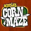 Donna's Corn Maze logo