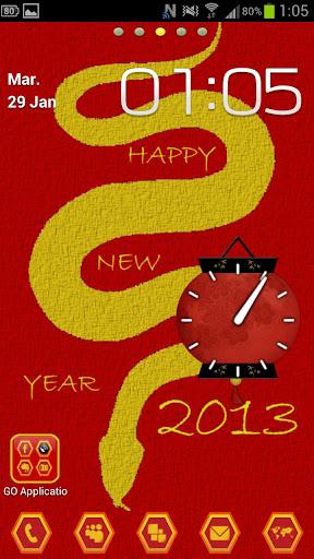 Go Launcher chinese Year 2013