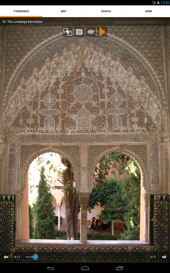 Alhambra & Generalife Granada- screenshot