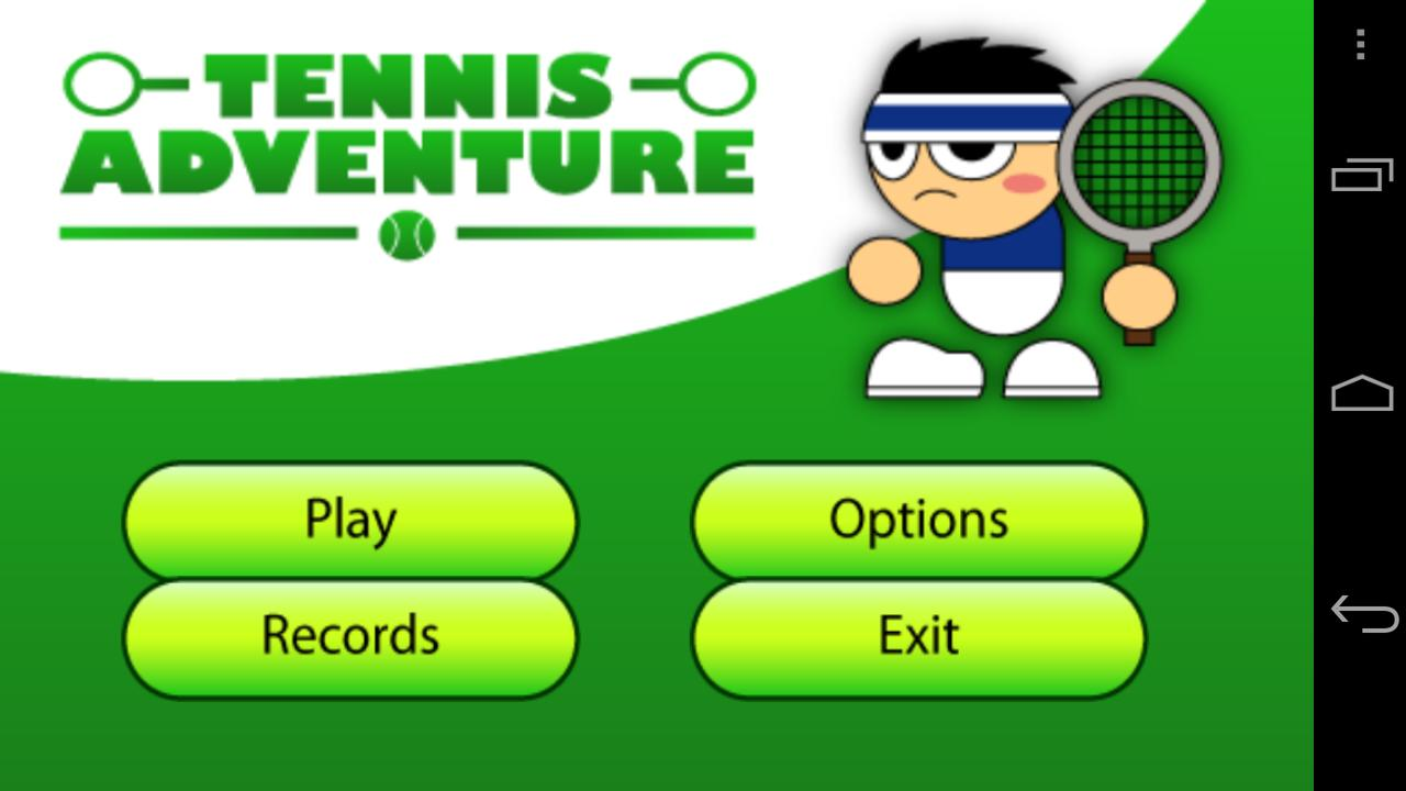 Tennis Adventure - screenshot