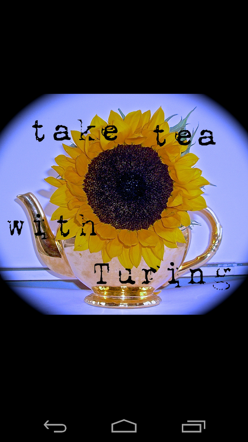 Take Tea With Turing- screenshot