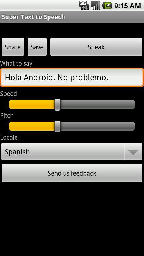 Super Text To Speech Free- screenshot