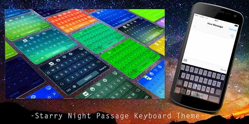 Starry Night Passage Keyboard