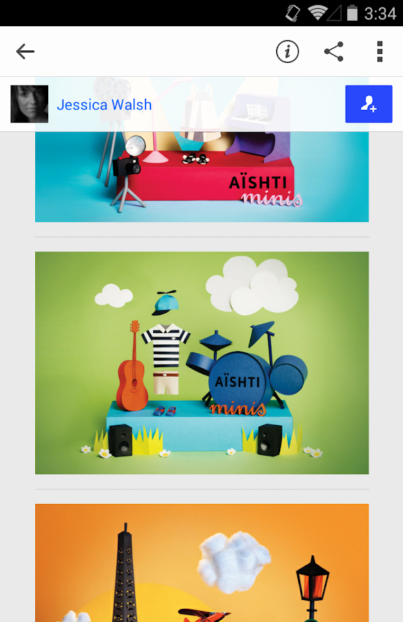 Behance- screenshot