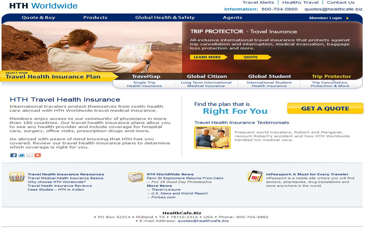 Travel Insurance - screenshot