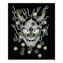 Hannya Tattoo Design Wallpaper icon