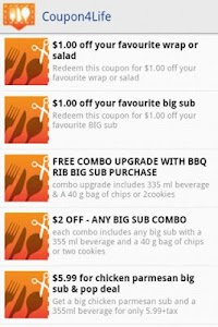 Coupon4Life screenshot 3