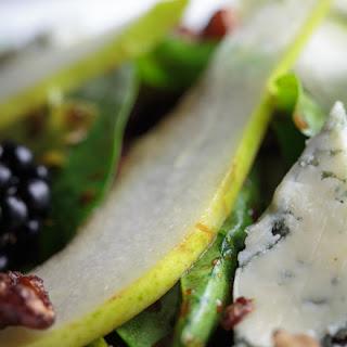 Gorgonzola & Pear Salad.