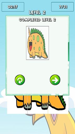 解謎必備APP下載|Dinosaur Puzzles For Toddlers 好玩app不花錢|綠色工廠好玩App