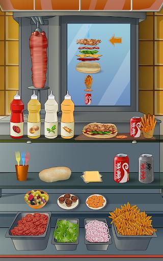 Doner Kebab : 生菜,西红柿,洋葱