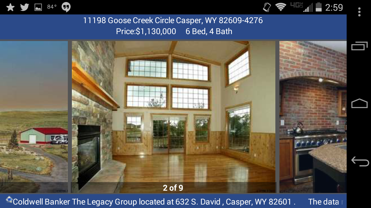 Coldwell Banker The Legacy Grp - screenshot
